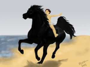 The Black Stallion - Running on the Beach